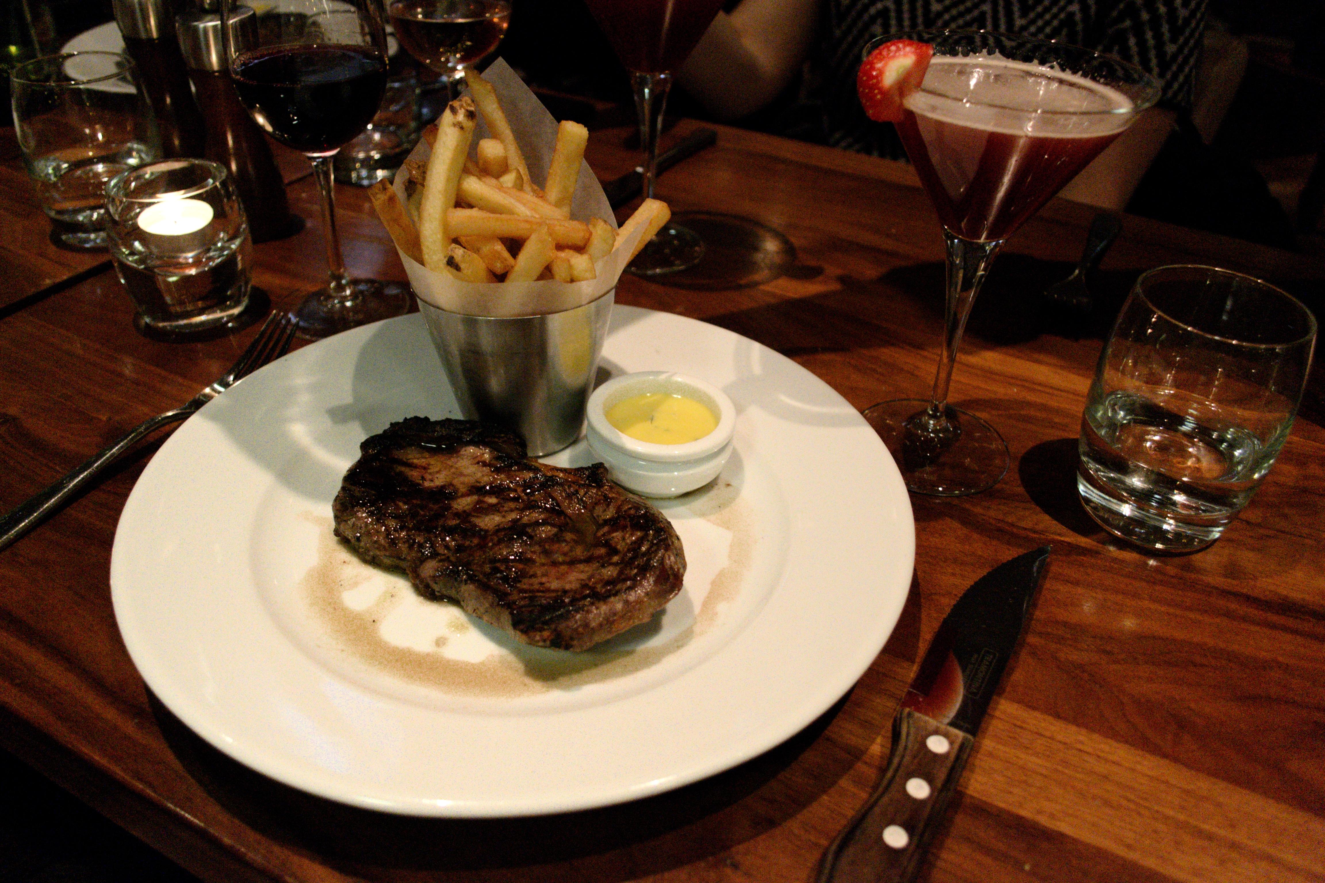 steak dinner in glasgow