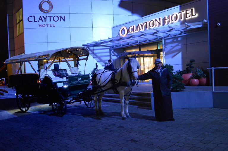 Clayton hotel limerick at christmas